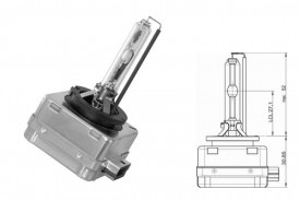 Bec Xenon D3S 12/24V 35W PK32d-5