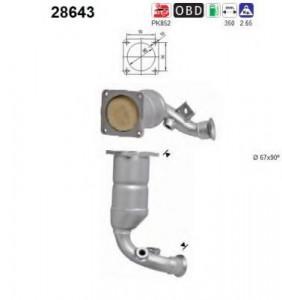 Catalizator Citroen C4 2004-2011