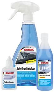Pachet iarna 3 produse degivrante Sonax