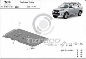 Scut metalic cutie de viteza Daihatsu Terios