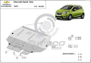 Scut motor metalic Chevrolet Spark II