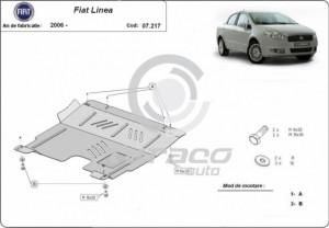 Scut motor metalic Fiat Linea
