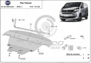 Scut motor metalic Fiat Talento