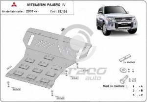 Scut motor metalic Mitsubishi Pajero IV
