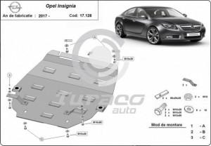 Scut motor metalic Opel Insignia B