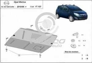 Scut motor metalic Opel Meriva B