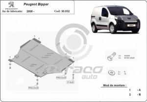 Scut motor metalic Peugeot Bipper
