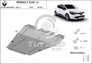 Scut motor metalic Renault Clio 4
