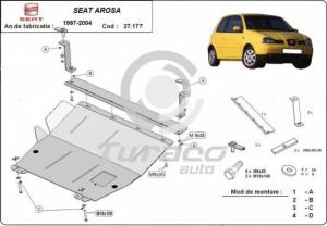 Scut motor metalic Seat Arosa