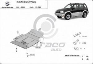Scut motor metalic Suzuki Grand Vitara