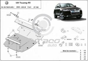 Scut motor metalic Volkswagen Touareg R5
