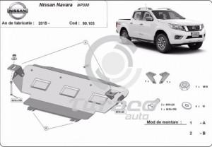 Scut radiator Nissan Navara NP300