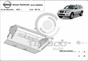 Scut radiator Nissan Pathfinder