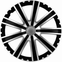 Set 4 capace roti 16 Inch Toro Silver - Black