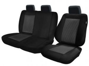 Set huse scaune Cargo Lux negru