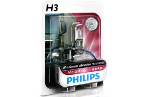 Bec H3 24V 70W PK22s MASTER DUTY (BLISTER)