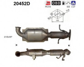 Catalizator Ford Mondeo IV 2007-2015
