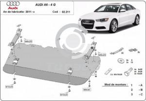 Scut motor metalic Audi A6 (4G)