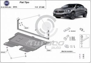 Scut motor metalic Fiat Tipo
