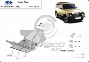 Scut motor metalic Lada Niva