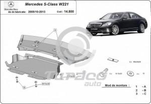 Scut motor metalic Mercedes S-Class W221