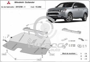 Scut motor metalic Mitsubishi Outlander