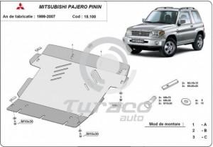 Scut motor metalic Mitsubishi Pajero Pinin
