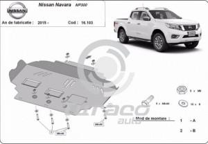 Scut motor metalic Nissan Navara NP300