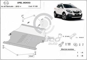 Scut motor metalic Opel Mokka