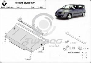 Scut motor metalic Renault Espace IV