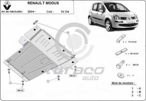 Scut motor metalic Renault Modus