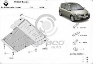 Scut motor metalic Renault Scenic