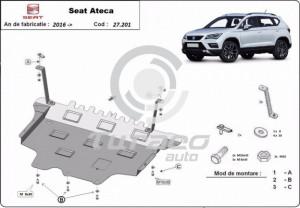 Scut motor metalic Seat Ateca