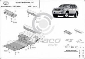 Scut motor metalic Toyota Land Cruiser