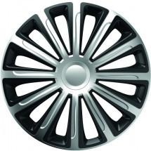 Set 4 capace roti 16 Inch Silver - Black Trend