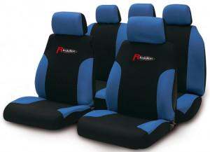 Set huse scaune Puma negru-albastru