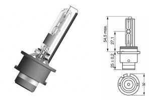 Bec Xenon D2R 12/24V 35W P32d-3