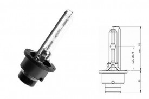 Bec Xenon D4S 12/24V 35W P32d-5