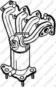 Catalizator Seat Leon 1999-2006