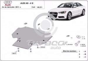 Scut metalic cutie de viteza Audi A6 4G