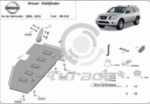 Scut metalic rezervor Nissan Pathfinder D40