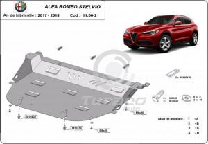 Scut motor metalic Alfa Romeo Stelvio