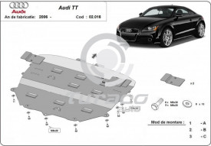 Scut motor metalic Audi TT (8J3)
