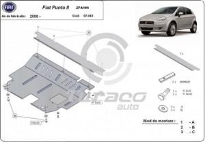 Scut motor metalic Fiat Punto 2