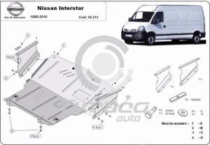 Scut motor metalic Nissan Interstar