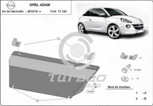 Scut motor metalic Opel Adam