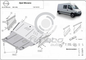 Scut motor metalic Opel Movano