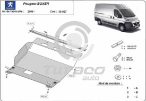 Scut motor metalic Peugeot Boxer