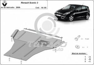 Scut motor metalic Renault Scenic 3