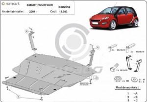 Scut motor metalic Smart FourFour